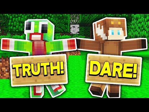 INSANE REAL LIFE MINECRAFT TRUTH OR DARE!