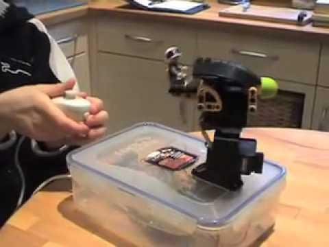 Lego Star Wars remote controlled rocket turret.