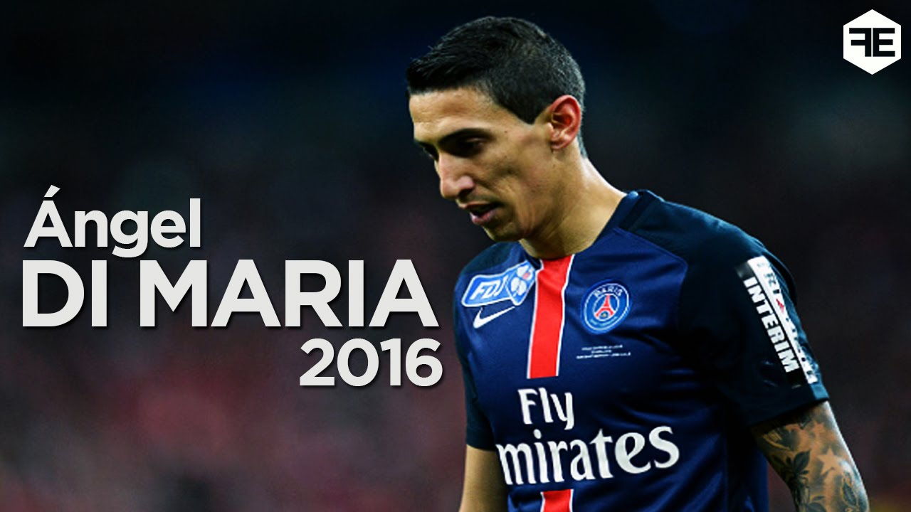Angel Di Maria 2016 Best Goals and Skills for PSG