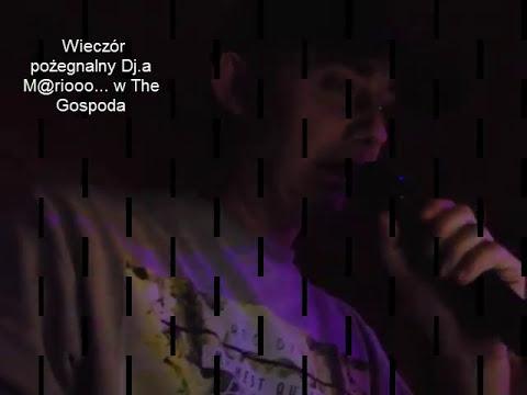 Ostatnie Karaoke Dja.M@riooo w The Gospoda Luton UK 02/09/17