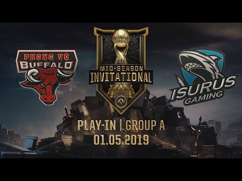 PVB vs ISG [MSI 2019][01.05.2019][Group A][Play-in]