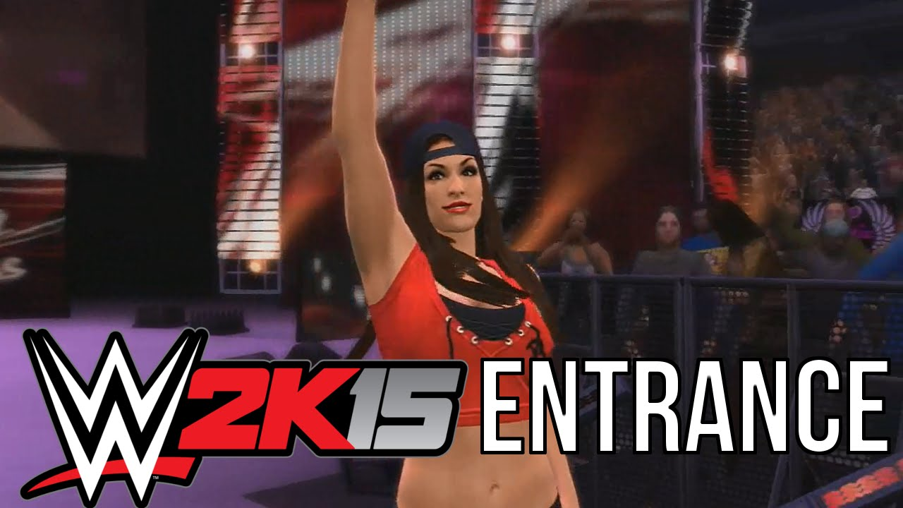 WWE 2k15: Nikki Bella Entrance - YouTube