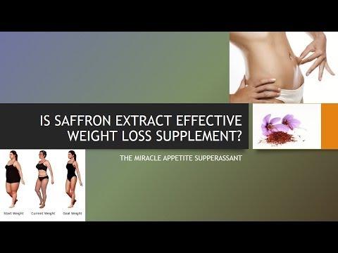 is-saffron-extract-an-effective-weight-loss-supplement?