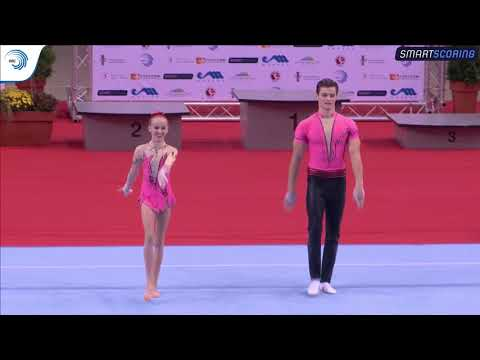 REPLAY: 2017 ACRO Europeans - Juniors finals MxP balance, WG and MG (OOC) dynamic