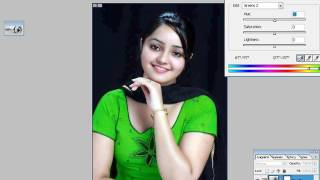 How to Change Clothes  Dress Color in Photoshop CC 2015  In Hindi  & Urdu