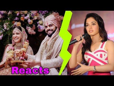 Virat Kohli's Ex gf Tamannaah Bhatia reaction of his marriage to Anushka Sharma is shocking || Mp3