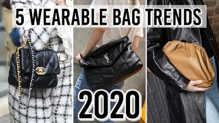 5 Wearable BAG TRENDS for 2020 *Edgy, yet practical!*