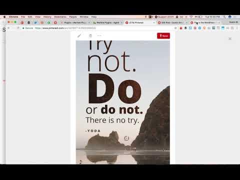 Pinterest Descriptions Not Showing on Pins - Warfare Plugins