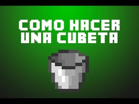 Minecraft c mo hacer una cubeta youtube - Como hacer una claraboya ...