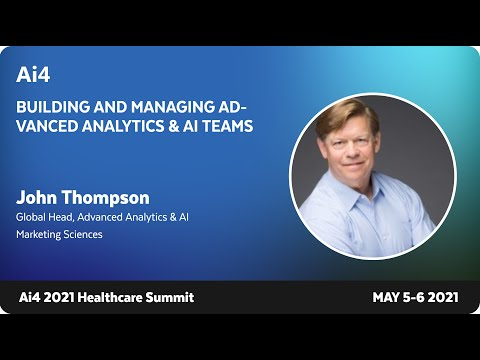 Fireside Chat With John Thompson, Global Head of Advanced Analytics and AI at CSL Behring
