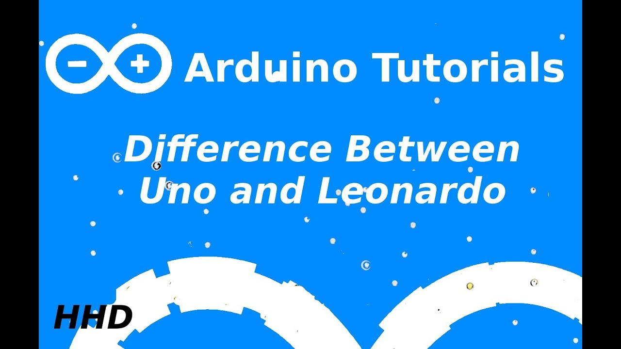 Arduino tutorial leonardo vs uno youtube