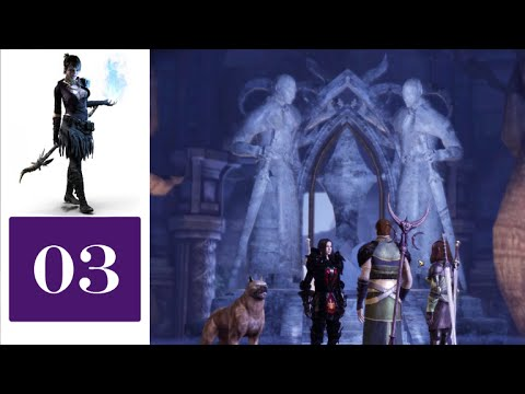 Let's Play Dragon Age: Witch Hunt (Blind) - 03 - Eluvian
