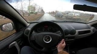 2011 Renault Sandero 1.4L 75hp POV Test Drive