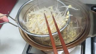 [간편요리] 콩나물 고추장 돼지불고기