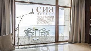 СИА проект: Дизайн интерьера апартаментов в Ялте 1