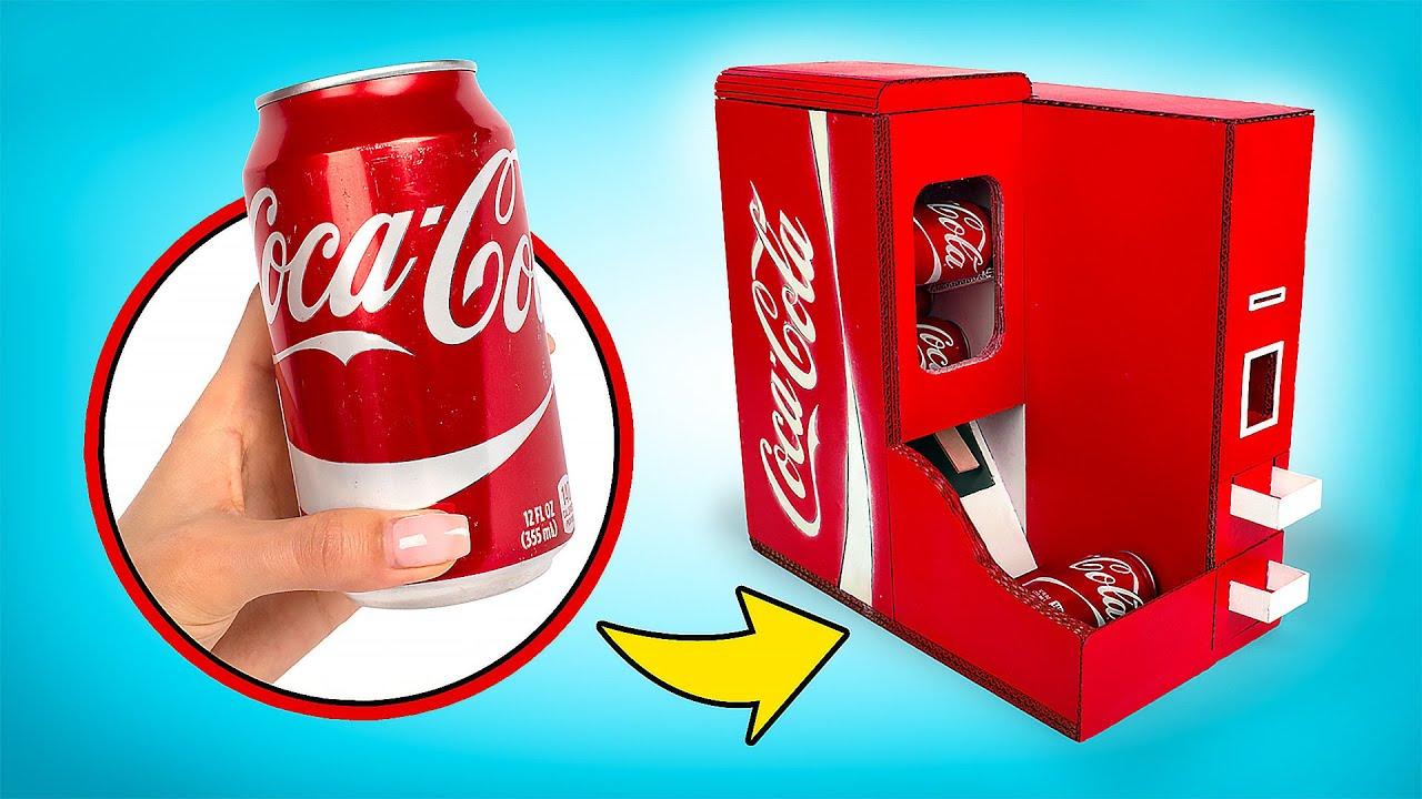Haz tu propio dispensador de Coca Cola🥤