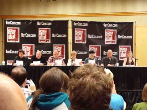Transformers Animated Script Reading Bot Con 2015