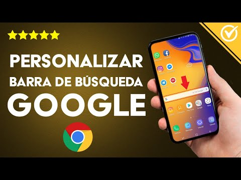 Cómo Activar y Personalizar el Widget de la Barra de Búsqueda de Google en Android o PC