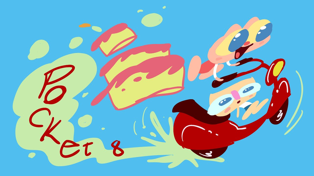 Mongo e Drongo Pocket e o Bolo de Parabéns pra Você - desenho animado infantil de aniversário