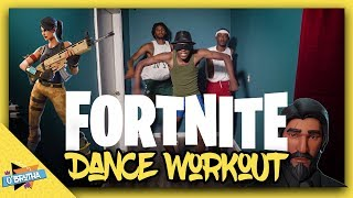 Fortnite Dance Workout in REAL LIFE | Funny Fail!