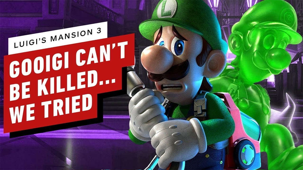Luigi S Mansion 3 Co Op Hotel Shops And Security Guard Boss Let S Play Gameplay