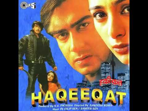 Hindi Old Song | Haqeeqat 1995 | Ajay Devgn, Tabu, Amrish Puri, Johnny Lever | Romantic | Bollywood
