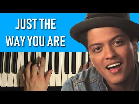 HOW TO PLAY - Bruno Mars - Just The Way You Are (Piano Tutorial Lesson)