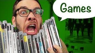 10 Arten von Videospielen / Games