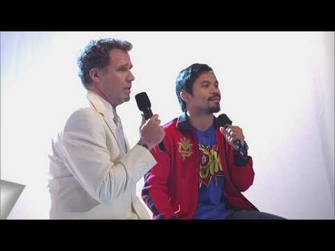 """""""Imagine"""" Sung  by Manny Pacquiao & Will Ferrell"""