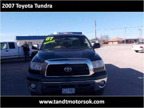2007 Toyota Tundra Used Cars Newcastle OK