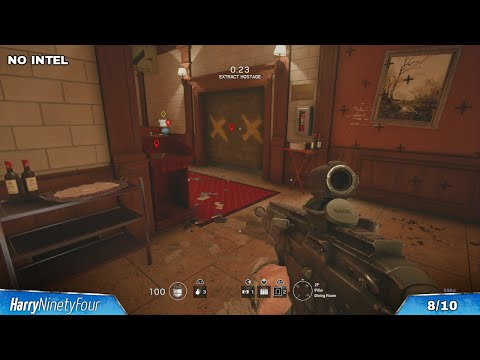 Rainbow Six Siege - 3 Stars in all Situations (Completionist