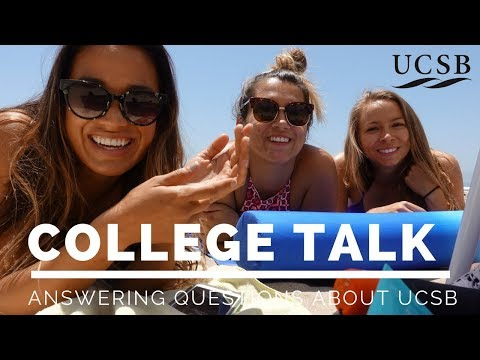 Answering Questions About College | UCSB