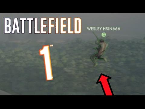 BF1 FUNNY MOMENTS #2 ►MID-AIR BLIMP SPAWN?! (Battlefield 1 Funny & Random Moments)