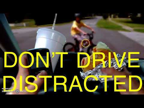 Distracted Driving Billboard