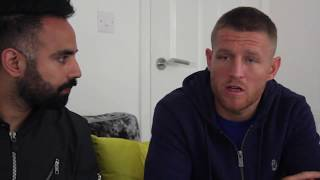 At home with Terry Flanagan as he reflects on Petrov win
