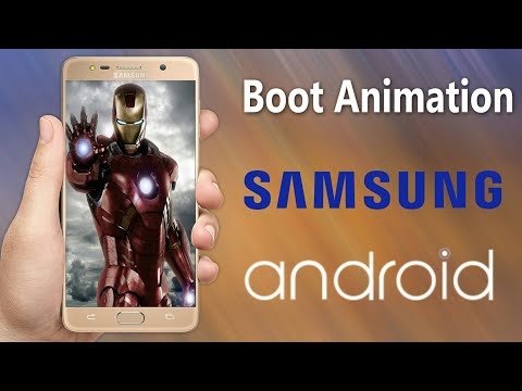 How to change boot animation in any Samsung Galaxy