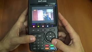 приборы для настройки спутниковых антенн с алиэкспресс Satlink WS-6906 и Satlink ws-6916