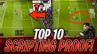 TOP 10 SCRIPTING PROOF! EA 100% EXPOSED! FIFA 19