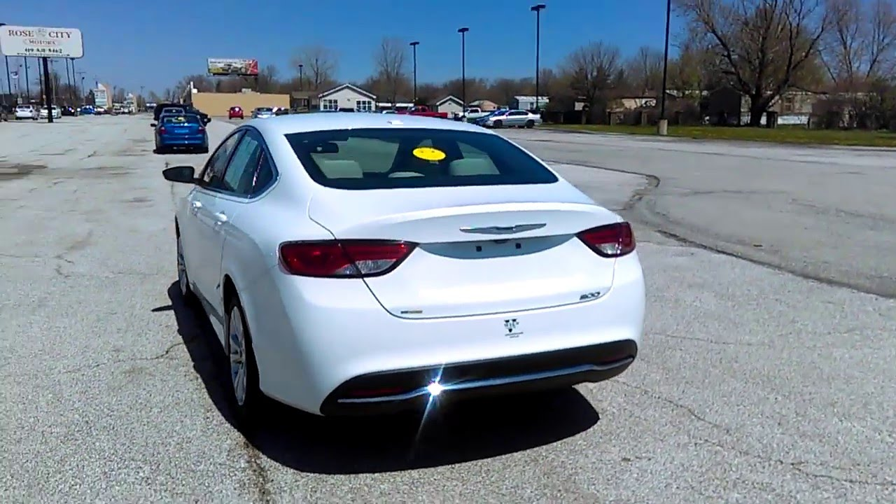 2015 chrysler 200 limited walk around nathan thompson