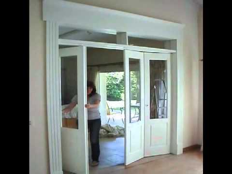 Puertas plegadizas youtube - Puertas plegables de aluminio ...