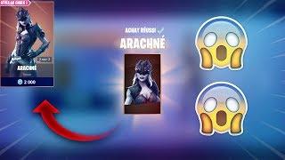 FORTNITE: NOUVEAU SKIN ARACHNE !