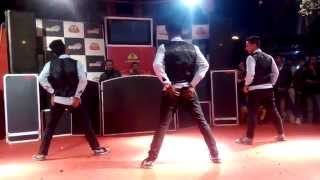 Aankh Mare woh ladka | Bollywood dance choreography | conquest dance crew | new year show 2015
