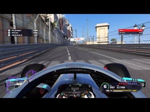 F1 2019 Monaco World Record Setup 1 07 669 No Assists Youtube