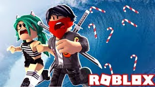 🌊 ON TO THE TSUNAMI OF CARAMELO STONES in ROBLOX😱