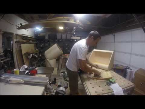 Time Lapse Building a Teleprompter Wedge Shell
