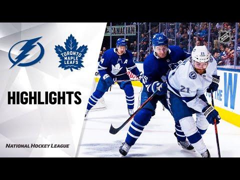 NHL Highlights | Lightning @ Maple Leafs 3/10/20