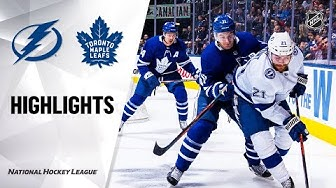 NHL Highlights | Lightning @ Maple Leafs 3/10/20