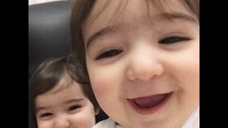 video lucu asiya safiya bayi kembar lucu gemesin