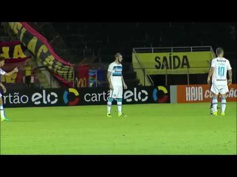 Sport 4 x 2 Grêmio Melhores Momentos - Brasileirão 2016 - 17/07/2016