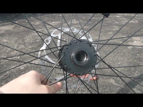 Передняя втулка колеса велосипеда, как разобрать, обслуживание